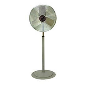 TPI CACU30P,30 Inch Pedestal Fan Non Oscillating 1/4 HP 4,200 CFM 1 PH