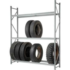 """Truck Tire Rack 3 Tier Starter 60""""W x 24""""D x 120""""H"""
