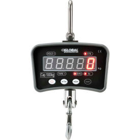 Global Industrial™ Digital Crane Scale with Remote 2000 lbs x 1 lbs