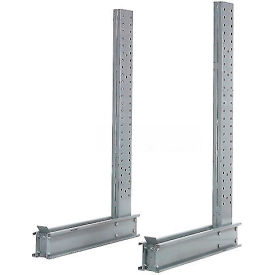 """Cantilever Rack Single Sided  Upright 16' H x 64""""  D 17200, Lbs Capacity"""