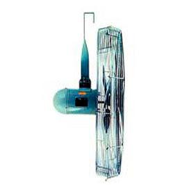 TPI IHP24-H-277-S, 24 Inch Suspension Mount Fan 1/3 HP 4300 CFM 1 PH 277V Totally Enclosed Motor