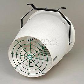 """J&D 20"""" Fiberglass Funnel Fan Variable Speed VU20F 1/2 HP 2870 CFM"""