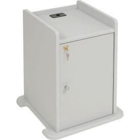 Optional Locking Cabinet for Overhead Projector Presentation Cart
