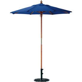 Oxford Garden® Market Outdoor Umbrella 6' - (Navy -poly)