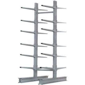 "Cantilever Rack Double Sided Starter Unit Heavy Duty (2000 Series),72""W  x 83""D x 10'H,20600 Lbs Cap"