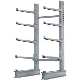 "Cantilever Rack Single Sided Starter Unit Heavy Duty (2000 Series),48""W  x 38""D x 8'H,13300 Lbs Cap"