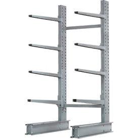 "Cantilever Rack Single Sided, Starter Unit Extra Heavy Duty, 48""W x 37""D x 8'H, 21500 Lbs. Capacity"