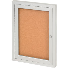 Panneau en liège intérieur United Visual Products à une porte,24 po l x36 po