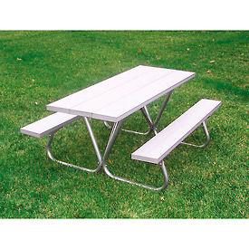 Tables de pique-nique en aluminium Top
