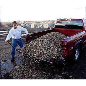 Loadhandler Full-Sized Pickup Truck Cargo Unloader Mat 2000 Lb. Capacity- Pkg Qty 1