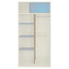 Penco 6CPX269C073 Center Partition For Patriot Locker, 15Dx58H Champagne