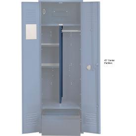 Penco 6CPX270C806 Center Partition For Patriot Locker with Bottom Shelf, 15Dx45H Marine Blue