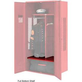 Penco 6SHX530C722 Full Bottom Shelf For Patriot Locker, 24Wx24D Patriot Red