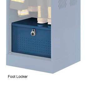 Penco 6ACXAB96H806 Foot Locker For Patriot Locker, 42x24x12 Marine Blue