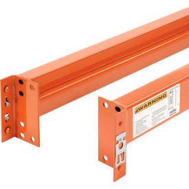 """Pallet Rack Beam 108""""Lx5-1/8""""H Unslotted 6270 Lb Cap/Pr (2 pcs)"""
