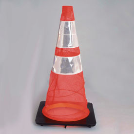 Quick Deploy Emergency Spring Cone, 3 Lb Base, Pack of 6