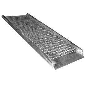 """Vestil Grip-Strut Aluminum Walk Ramp AWR-G-28-12A - 12'L x 28""""W"""