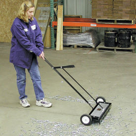 """Master Magnetics Heavy Duty Magnetic Sweeper with Release- 24""""W - MFSM24RX"""