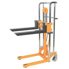 """Wesco® Value Lift Manual Stacker 272941 880 Lb. Cap. 59"""" Lift"""