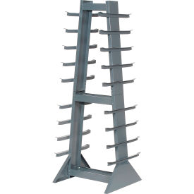 Horizontal Storage Rack 9 Levels 2600 Lb Capacity