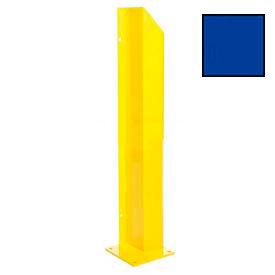 """Heavy Duty Door Track Protector 24"""" Left Blue"""