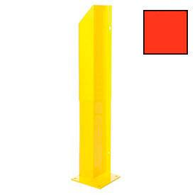 "Heavy Duty Door Track Protector 36"" Right Orange"