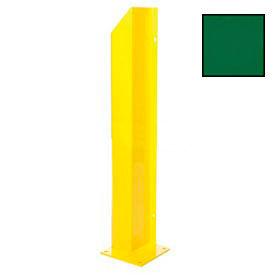 "Heavy Duty Door Track Protector 36"" Right Green"