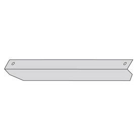 """Lyon Anchoring Angle For 12""""D Lockers  NF5872 - Galvanized"""