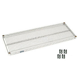 """Nexel® S2148C Chrome Wire Shelf 48""""W x 21""""D"""
