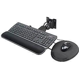 Flip-Up Keyboard & Mouse Tray For Orbit Workstation