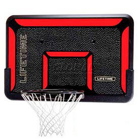 "Lifetime® 44"" Rectangular Impact Basketball Backboard with Classic Rim"