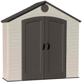 "Lifetime 8' x 2'  6"" Garden and Tool Shed"