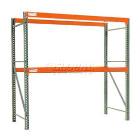 "Global Tear Drop Pallet Rack Starter 48""W X 48""D X 96""H"