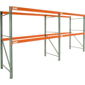 "Global Tear Drop Pallet Rack Add-On 120""W X 36""D X 96""H"