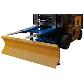 "Fork Truck Snow Plow - 72"" Wide Blade - SPB-N-72"