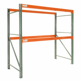 "Global Tear Drop Pallet Rack Starter 120""W x 48""D x 96""H"