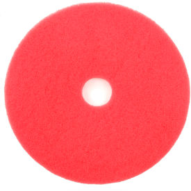 "20"" Red Buffing Pad - 5 Per Case"