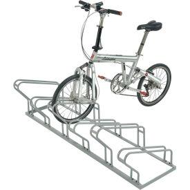 Low Profile Bike Rack, 6-Bike Storage
