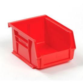 Global™ Plastic Storage Bin - Small Parts 4-1/8 x 5-3/8 x 3, Red - Pkg Qty 24