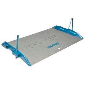 Bluff® 20T7260 HD Steel Dock Board with Lock Pins 72 x 60 20,000 Lb. Cap.