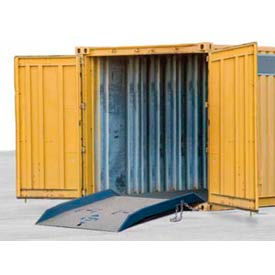 Bluff® 20CR7284 Forklift Container Ramp 72 x 84 20,000 Lb. Cap.