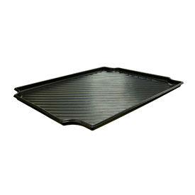 """Plastic Containment Tray 30""""W x 24""""H, Black, Black"""