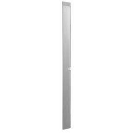"""Polymer Pilaster w/ Shoe - 20"""" W x 82"""" H Gray"""