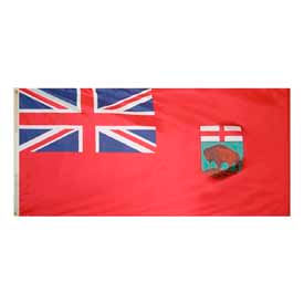 3 x 6 ft Nylon Manitoba Flag