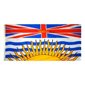 3 x 6 ft Nylon British Columbia Flag