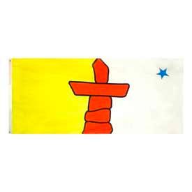 3 x 6 ft Nylon Nunavut Flag
