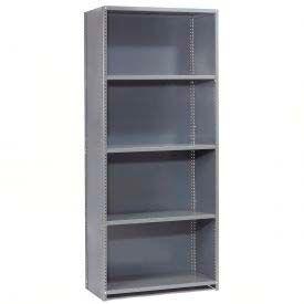 """Global Steel Shelving 18 Ga 36"""" Wx18"""" Dx97"""" H Closed Clip 5 Shelves Starter"""