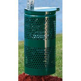 DOGIPOT® Aluminum 10 Gallon Outdoor Dog Waste Receptacle