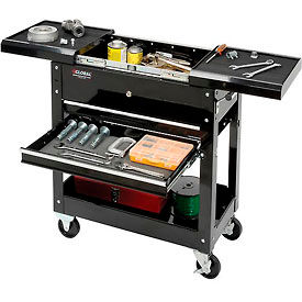 "Global™ Industrial 27"" 2-Drawer Tool Cart W/ Sliding Top"