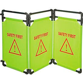Safety First Folding Fabric Barrier
